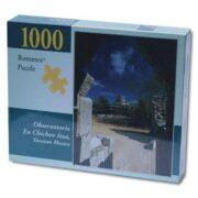 ROMPECABEZAS DE 1000 PIEZAS OBSERVATORIO EN CHICHEN ITZA - ROMMEX