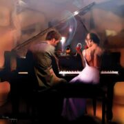 ROMPECABEZAS DE 1024 PIEZAS PAREJA EN EL PIANO - ANATOLIAN