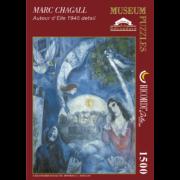 ROMPECABEZAS DE 1500 PIEZAS DE ALREDEDOR DE ELLA DE MARC CHAGALL - RICORDI