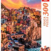 ROMPECABEZAS DE 300 PIEZAS DE MANAROLA CINQUE TERRE ITALIA - EDUCA