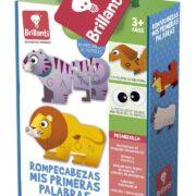 ROMPECABEZAS DE MIS PRIMERAS PALABRAS (ANIMALITOS FELICES) - NOVELTY