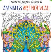ARTE PARA COLOREAR DE ANIMALES ART NOUVEAU - V&R EDITORAS