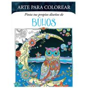ARTE PARA COLOREAR DE BÚHOS - V&R EDITORAS
