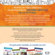 ARTE PARA COLOREAR DE LAS MEJORES ARTISTAS DE LA HISTORIA - V&R EDITORAS