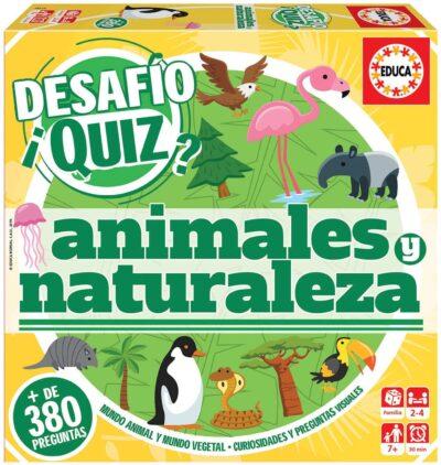 DESAFÌO QUIZ (ANIMALES Y NATURALEZA) - EDUCA