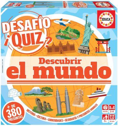 DESAFÌO QUIZ (DESCUBRIR EL MUNDO) - EDUCA