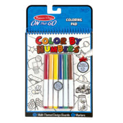 BLOC PARA COLOREAR (COLOR POR NUMERO) - MELISSA AND DOUG