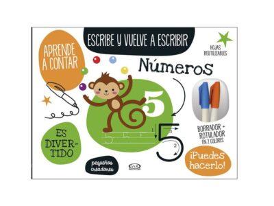 ESCRIBE Y VUELVE A ESCRIBIR DE NÚMEROS - V&R EDITORAS