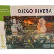 ROMPECABEZAS DE 1000 PIEZAS DE LA INDUSTRIA DE DETROIT DE DIEGO RIVERA - POMEGRANATE