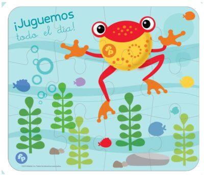 ROMPECABEZAS 5 EN 1 DE 9,12 Y 24 PIEZAS - FISHER PRICE