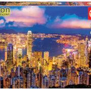 ROMPECABEZAS DE 1000 PIEZAS DE HONG KONG (NEÓN) - EDUCA