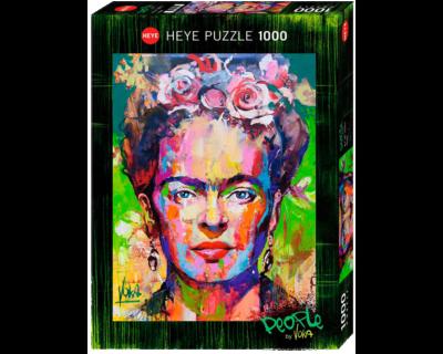 ROMPECABEZAS DE 1000 PIEZAS DE PEOPLE DE VOKA (FRIDA KHALO) - HEYE