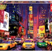 ROMPECABEZAS DE 1000 PIEZAS DE TIMES SQUARE EN NEW YORK (NEON) - EDUCA