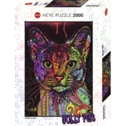 ROMPECABEZAS DE 2000 PIEZAS DE GATO - HEYE