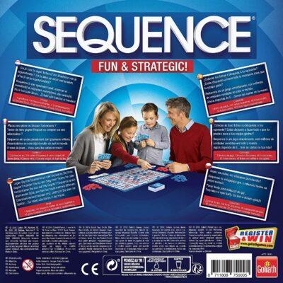 SEQUENCE (JUEGO DE MESA) - GOLIATH