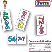 DOMINO DE MULTIPLICACIÓN - TOTTE