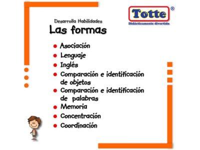 LAS FORMAS - TOTTE