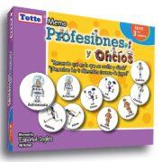 MEMO PROFESIONES Y OFICIOS (ESPAÑOL E INGLES) - TOTTE