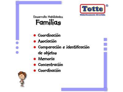 ROMPECABEZAS DE FAMILIAS - TOTTE