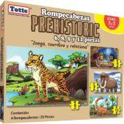ROMPECABEZAS PROGRESIVO PREHISTÓRICO (PREHISTORIC) - TOTTE