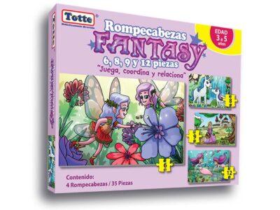 ROMPECABEZAS PROGRESIVO DE FANTASÍA (FANTASY) - TOTTE