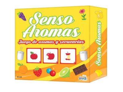 SENSO AROMAS (JUEGO DE MESA) - VÍA APRENDE
