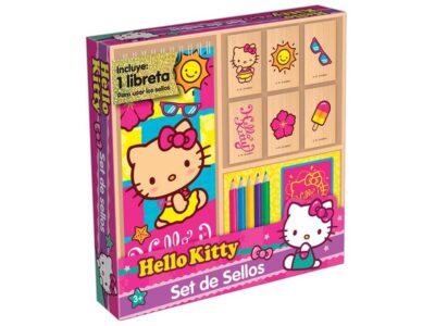 SET DE SELLOS DE HELLO KITTY - NOVELTY