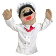 MARIONETA DE CHEF O COCINERO - MELISSA AND DOUG