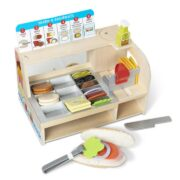 MOSTRADOR DE SANDWICHES - MELISSA AND DOUG