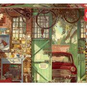 ROMPECABEZAS DE 1500 PIEZAS DE OLD GARAGE DE ARLY JONES - EDUCA