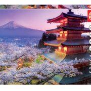 ROMPECABEZAS DE 2000 PIEZAS DE MONTE FUJI EN JAPON - EDUCA