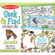 BLOC DE STICKERS BUSCO Y ENCUENTRO DE ANIMALES - MELISSA AND DOUG