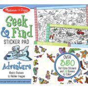 BLOC DE STICKERS BUSCO Y ENCUENTRO DE AVENTURA - MELISSA AND DOUG
