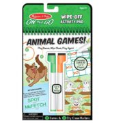 LIBRO REUSABLE DE ACTIVIDADES DE ANIMALES - MELISSA AND DOUG