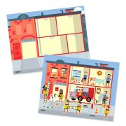 BLOC DE CALCAMANIAS REHUTILIZABLES DE MI CIUDAD - MELISSA AND DOUG