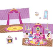 BLOC DE CALCAMANIAS REHUTILIZABLES DE PRINCESAS - MELISSA AND DOUG