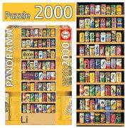 ROMPECABEZAS DE 2000 PIEZAS DE LATAS - EDUCA