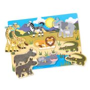 ROMPECABEZAS DE PIJAS ANIMALES DEL SAFARI (7 PIEZAS) - MELISSA AND DOUG