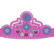 TIARA Y VARITA DE ESPUMA CON DIAMANTINA - MELISSA AND DOUG