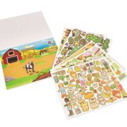 BLOC DE CALCAMANIAS REHUTILIZABLES DE LA GRANJA - MELISSA AND DOUG
