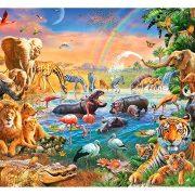 ROMPECABEZAS DE 100 PIEZAS DE ANIMALES DE LA SABANA - RAVENSBURGER
