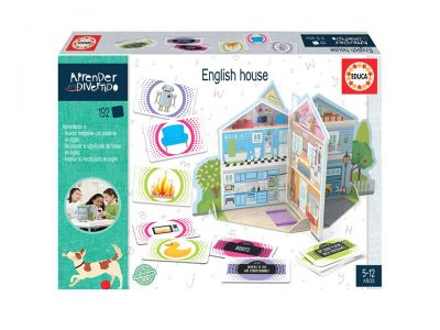 ENGLISH HOUSE (APRENDER ES DIVERTIDO) - EDUCA