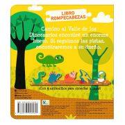 LIBRO ROMPECABEZAS DE DINOSAURIOS - NOVELTY