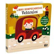 LIBRO ROMPECABEZAS VEHÍCULOS - NOVELTY