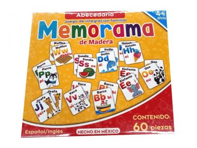 MEMORAMA DE ABECEDARIO
