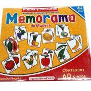 MEMORAMA DE FRUTAS Y VERDURAS
