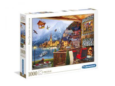 ROMPECABEZAS DE 1000 PIEZAS AUSTRIA - CLEMENTONI