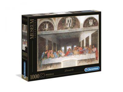 ROMPECABEZAS DE 1000 PIEZAS DE LA ULTIMA CENA - CLEMENTONI