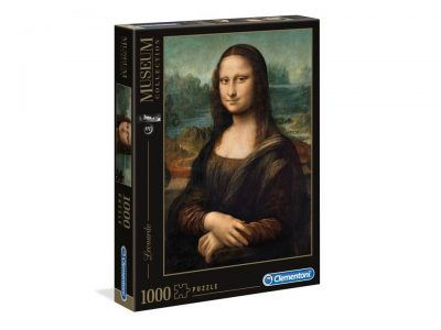 ROMPECABEZAS DE 1000 PIEZAS DE MONA LISA - CLEMENTONI