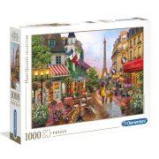 ROMPECABEZAS DE 1000 PIEZAS FLORES EN PARIS - CLEMENTONI